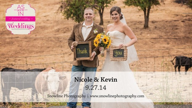 Sacramento Wedding Inspiration: Nicole & Kevin {from the Summer/Fall 2015 Issue of Real Weddings Magazine}