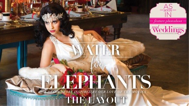 "Sacramento Wedding Inspiration: ""Water for Elephants"" – Styled Shoot Blog Series {The Layout}"