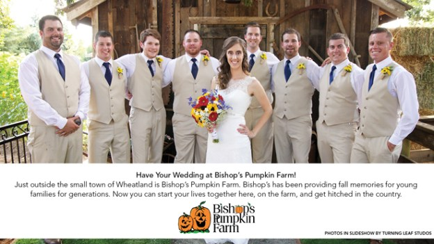 Sacramento Wedding Venue: Featured Partner {Bishop's Pumpkin Farm}