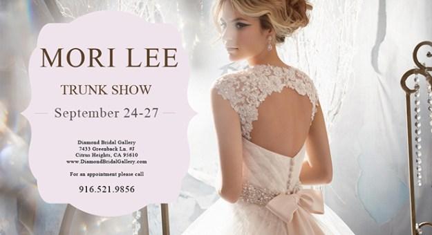 Diamond Bridal Gallery_Mori Lee Trunk Show_September 2015_Sacramento Bridal Gowns