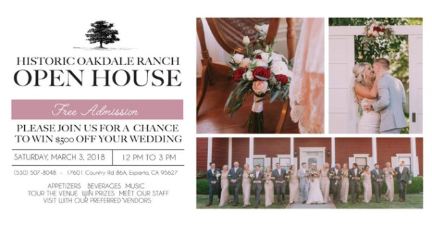 Historic Oakdale Ranch| Historic Oakdale Ranch Open House | Esparto Wedding Venue | Sacramento Weddings