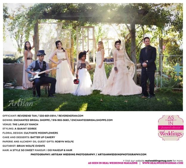 Sacramento Wedding Inspiration: Styled Photo Shoot {Boho Steampunk}