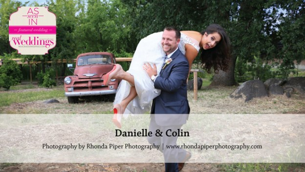 Sacramento Wedding Inspiration: Danielle & Colin {from the Winter/Spring 2016 Issue of Real Weddings Magazine}