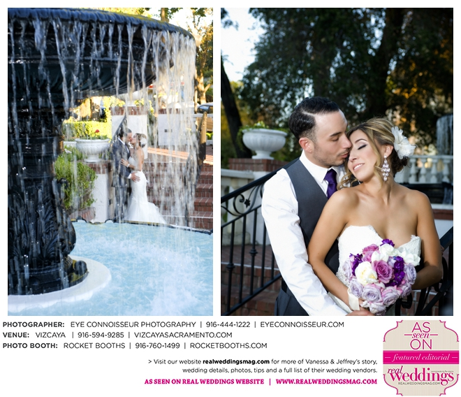 Sacramento Weddings: Real Weddings Wednesday {Vanessa