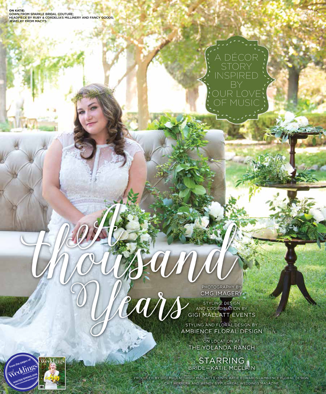 Sacramento Wedding Inspiration: A Thousand Years-A Decor