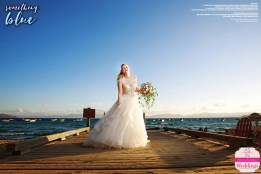 "As seen in the ""Something Blue"" cover model contest finalist photo shoot in the Winter/Spring 2016 issue Real Weddings Magazine, www.realweddingsmag.com"