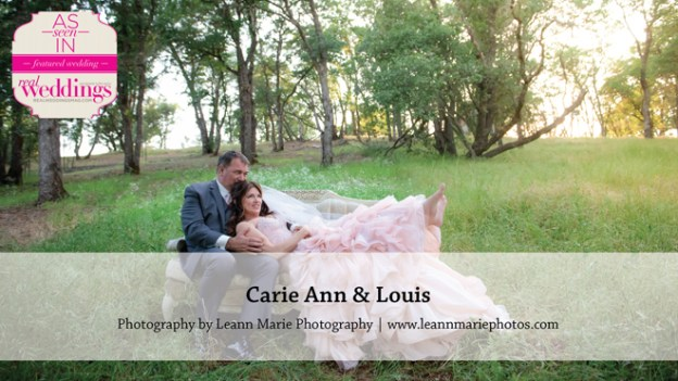 Sacramento Wedding Inspiration: Carie Ann & Louis {from the Winter/Spring 2016 Issue of Real Weddings Magazine}
