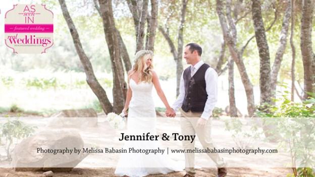 Sacramento Wedding Inspiration: Jennifer & Tony {from the Winter/Spring 2016 Issue of Real Weddings Magazine}