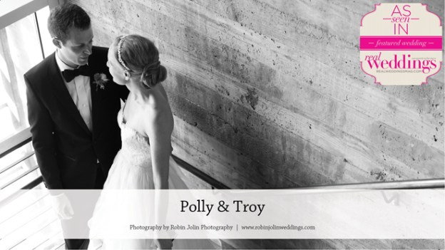 Napa Valley Wedding Inspiration: Polly & Troy {from the Winter/Spring 2016 Issue of Real Weddings Magazine}