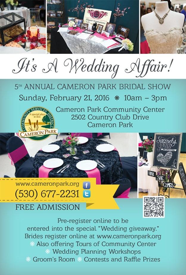 Cameron Park Wedding Event: Reminder {It's A Wedding Affair}