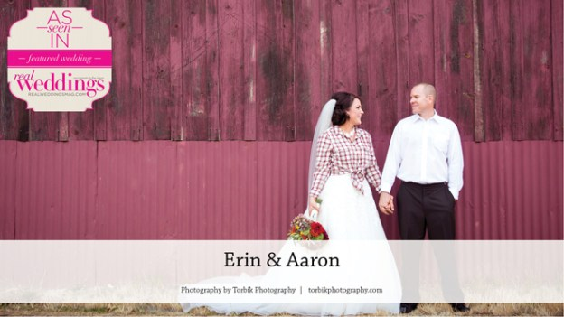Sacramento Wedding Inspiration: Erin & Aaron {From the Summer/Fall 2016 Issue of Real Weddings Magazine}