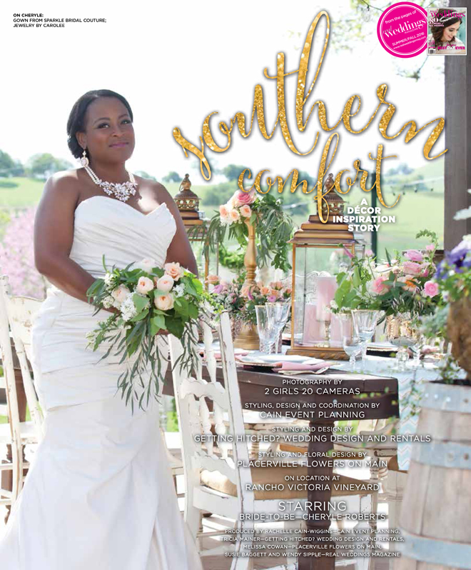 Sacramento Wedding Inspiration: Southern Comfort {The
