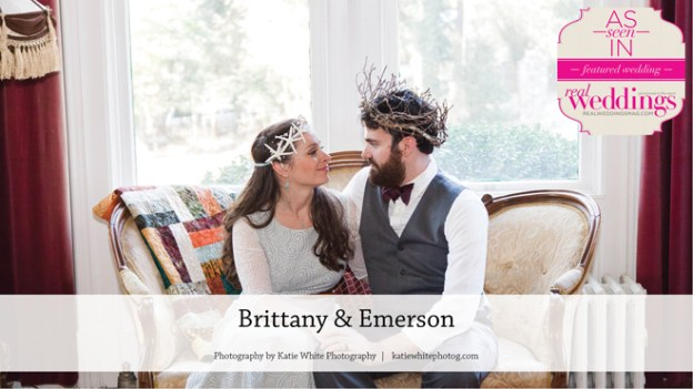 Nevada City Wedding Inspiration: Brittany & Emerson {From the Summer/Fall 2016 Issue of Real Weddings Magazine}