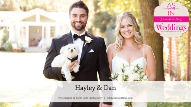 Sonoma Wedding Inspiration: Hayley & Dan {From the Summer/Fall 2016 Issue of Real Weddings Magazine}