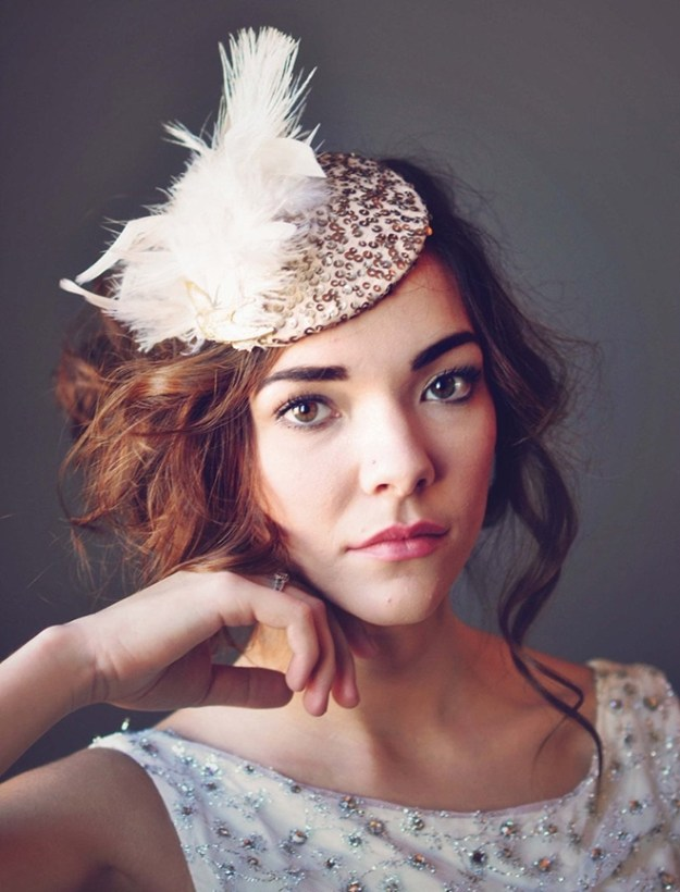 Ruby and Cordelias – Pink Fascinator Hat
