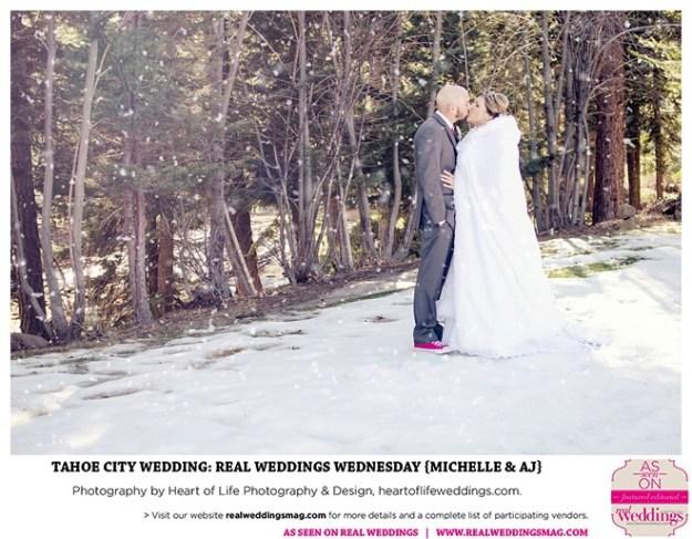 Tahoe City Wedding: Real Weddings Wednesday {Michelle & AJ}