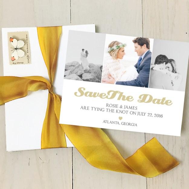 Sacramento Wedding Invitations: Go Truly Custom™ With Basic Invite