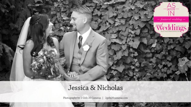 Contra Costa County Wedding Inspiration: Jessica & Nicholas {From the Winter/Spring 2017 Issue of Real Weddings Magazine}