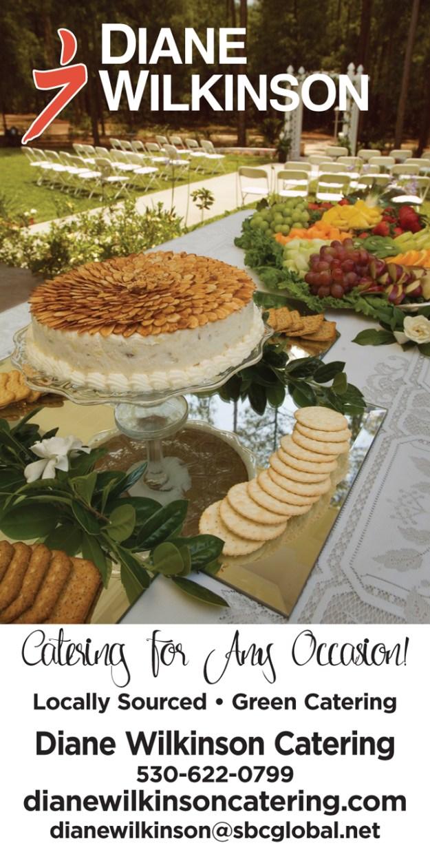 Placerville Wedding Caterer | Wedding Pro Spotlight | Diane Wilkinson Catering | Best Sacramento Caterer