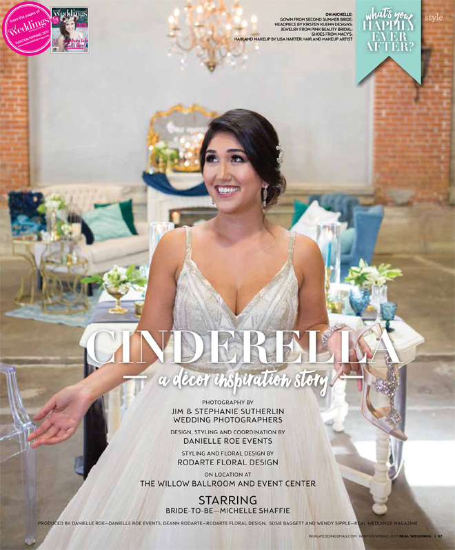 Sacramento Wedding Inspiration: Cinderella {The Layout} from the