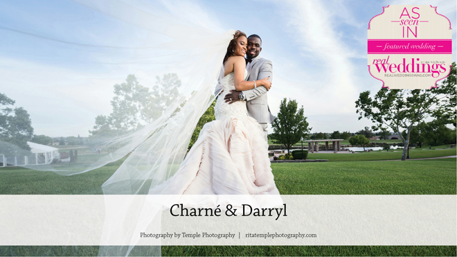 Lincoln Wedding Inspiration: Charné & Darryl {From the Winter/Spring 2017 Issue of Real Weddings Magazine}