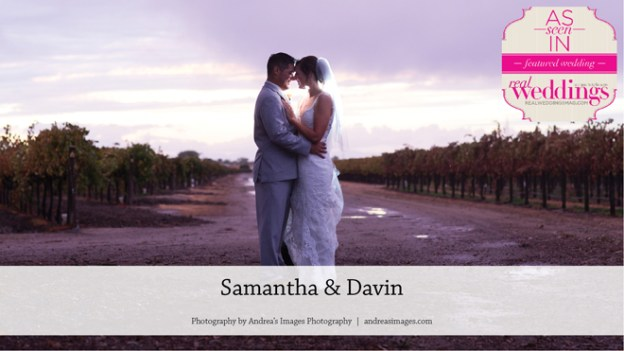 Clarksburg Wedding: Samantha & Davin {From the Summer/Fall 2017 Issue of Real Weddings Magazine}