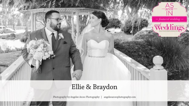 Lincoln Wedding: Ellie & Braydon {From the Summer/Fall 2017 Issue of Real Weddings Magazine}