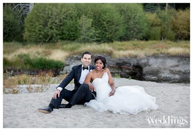 Lake Tahoe Wedding: Real Weddings Wednesday {Jasmine & Michael}