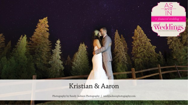Yosemite Wedding: Kristian & Aaron {From the Summer/Fall 2017 Issue of Real Weddings Magazine}