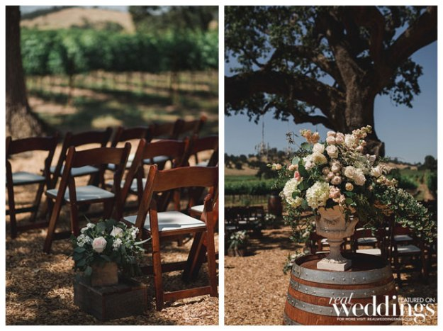 Rancho Victoria Vineyard Wedding | Anamae Photo | Accents By Sage | Go West Baking | Abby & Matt Rancho Victoria Wedding | Plymouth Wedding