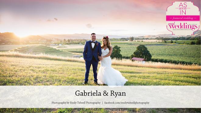 Emily Tidwell Photo   Capay Wedding   Featured Real Wedding  Gaby & Ryan   Gabriela \ Blossom Farm Vintage Rentals