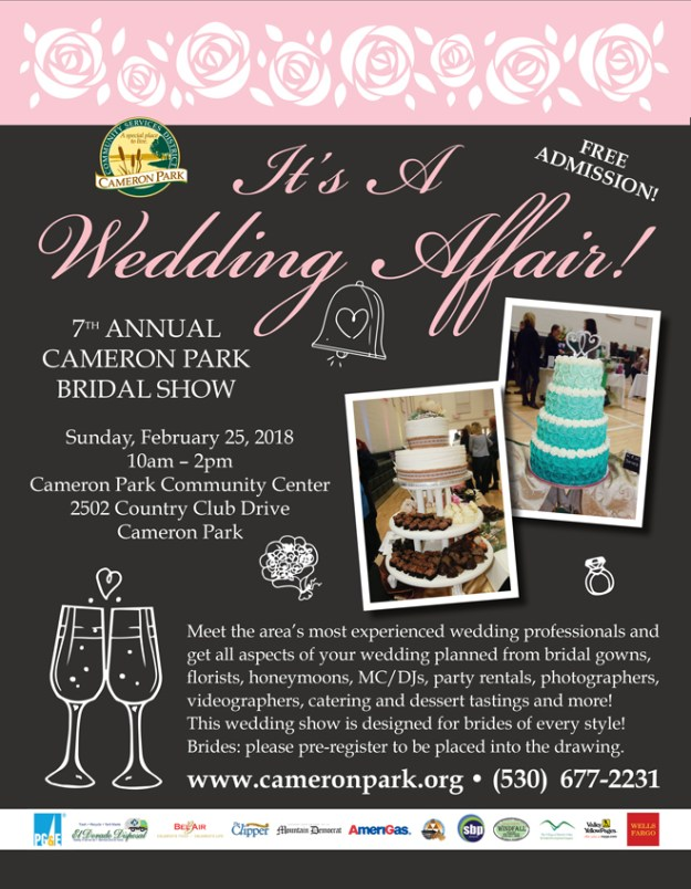 It's A Wedding Affair | Cameron Park Bridal Show | Sacramento Weddings | Sacramento Wedding Vendors