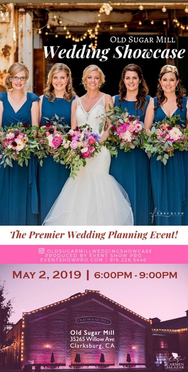 Old Sugar Mill Wedding Venue | Sacramento Wedding Venue