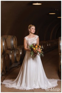 Sacramento's Real Weddings Magazine's Golden Girls photo shoot featuring real bride model Kayla Carlisle. Shot by Sweet Marie Photography on location at Helwig Winery.
