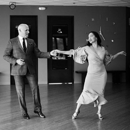 Arthur Murray Dance Center Folsom Sacramento Kate Bobby Gonzales Lessons - Real Weddings Magazine