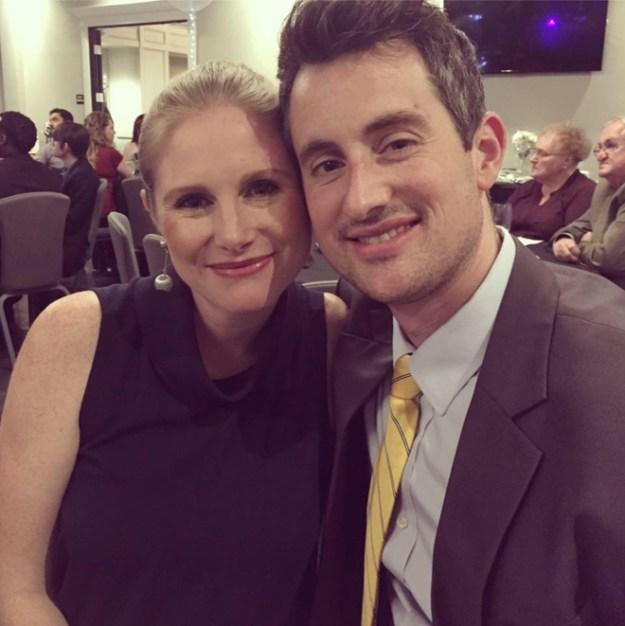 Photo of Karmen and her husband