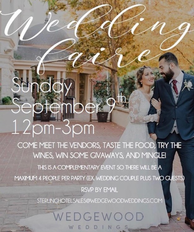 Sterling Hotel Sacramento   Wedgewood Weddings   Sacramento Weddings