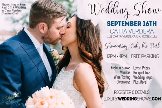 Luxury Wedding Shows | Sacramento Wedding Event | Sacramento Bridal Show | Best Sacramento Wedding Event