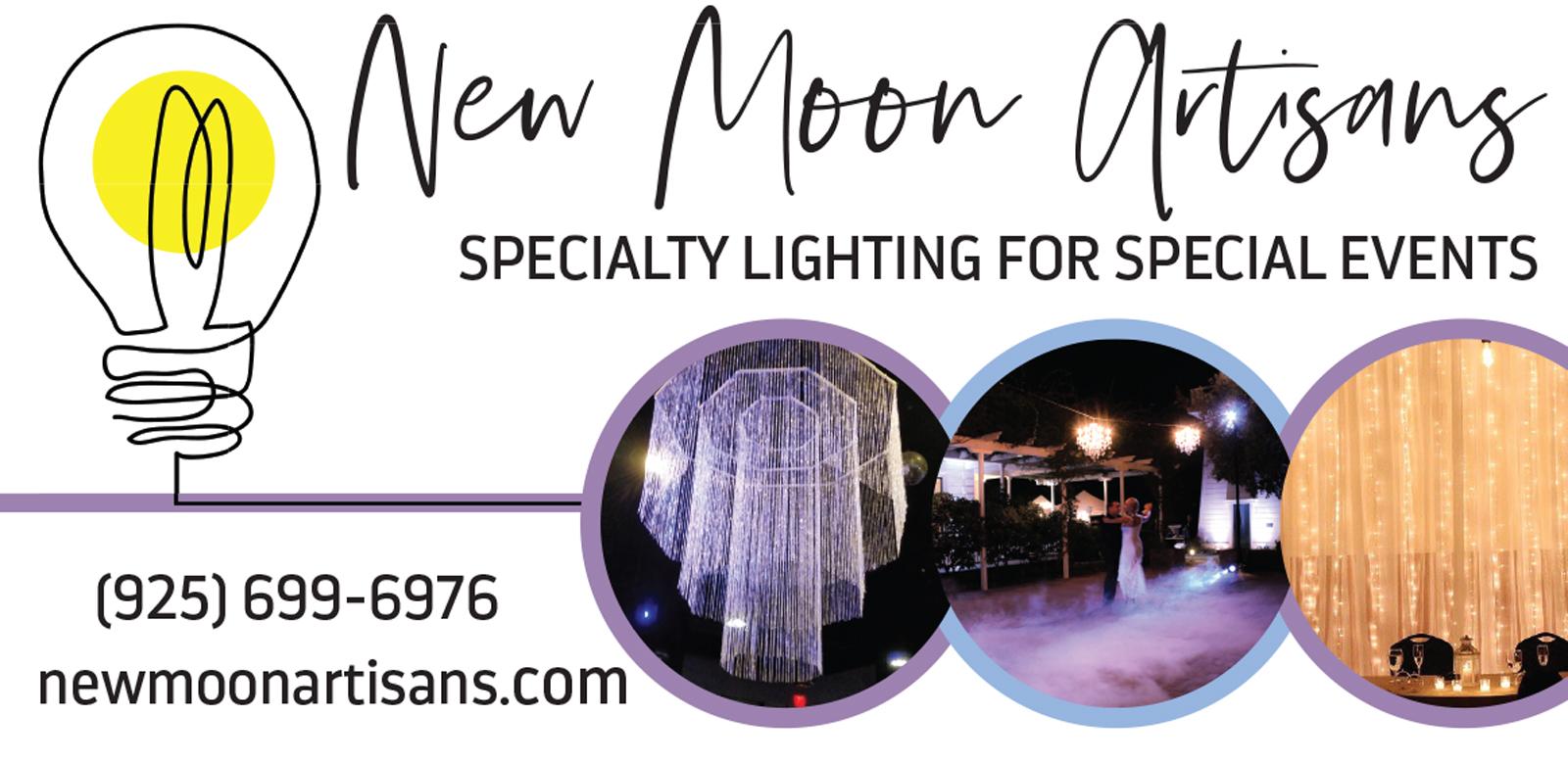 New Moon Artisans Lighting
