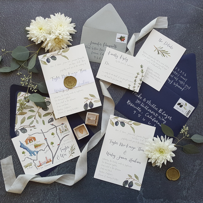 est Wedding Invitations | Sacramento Wedding Paperie | Northern California Hand Lettering | Sacramento Laser Cut Wedding Invitations Escort Cards Save The Date Cards
