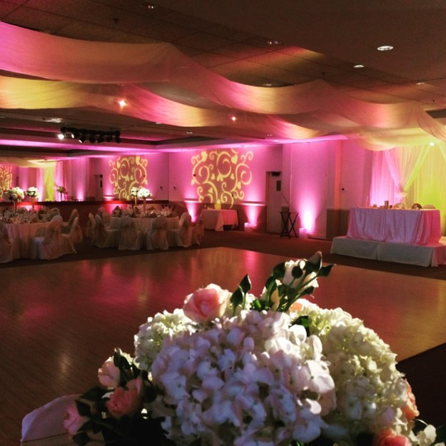 Sacramento Bay Area Wedding Lighting