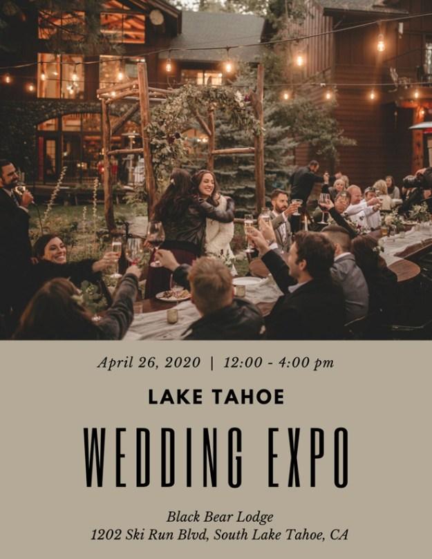 Lake Tahoe Wedding Expo | Lake Tahoe Wedding Show