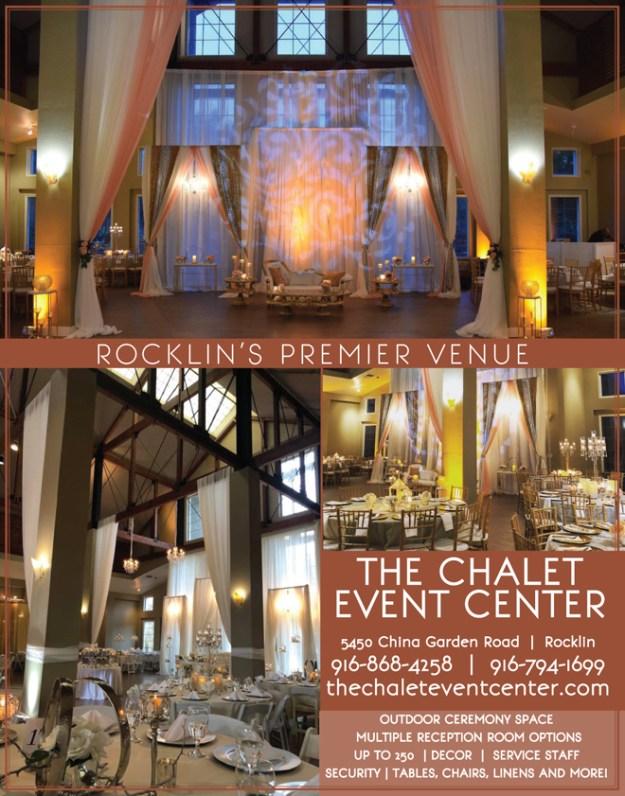 Rocklin Wedding Venue | Sacramento Bride | Chalet Event Center