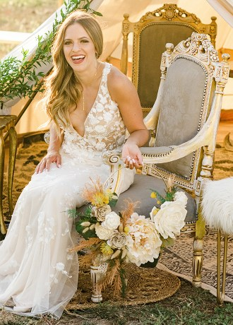Real Weddings Magazine Special Offer Discount Curious Floral Luxury Faux Wood Flowers Folsom | Best Sacramento Tahoe Northern California Vendors