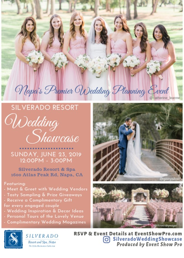 Sacramento Bridal Show | Northern California Wedding Event Open House | Napa Wedding Planning | Silverado Resort
