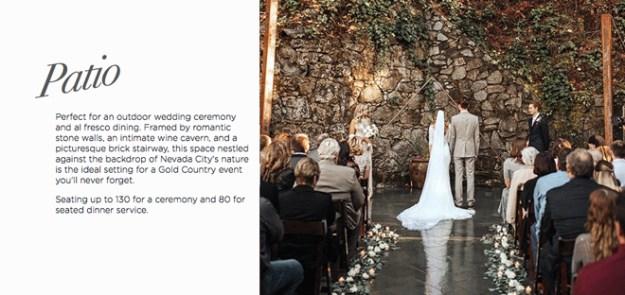 Best Sacramento Wedding Venue | Best Northern California Wedding Venue | Best Sacramento Rehearsal Dinner | Best Northern California Rehearsal Dinner | Nevada City Wedding Venue