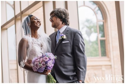 Lauren & Bryce | Downtown Sacramento Wedding | Purple Glam Wedding