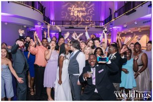 Lauren & Bryce | Downtown Sacramento Wedding | Purple Glam Wedding