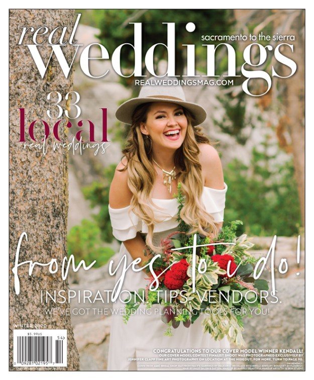 Real Weddings Magazine-Real Bride Models-Sacramento Wedding Vendors