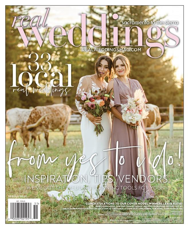 Real Weddings Magazine-Real Bride Models-Sacramento Wedding Vendors